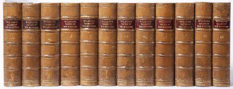 Wilson (John Mackay) Leighton (Alexander) Ed. Wilson's Tales of the Border and of Scotland. 12 Vols.