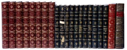 Tennyson (Alfred, Lord) (1809-1892) The Works thereof. 8 Vols. Macmillan, London 1888. With portrait