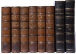 Collier (J Payne) Ed. 'Shakespeare's Comedies Histories, Tragedies and Poems'. 2nd Ed. 6 Vols.