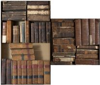 A large collection of 18th/19th century Legal Books mainly full calf but in much used condition (