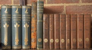Wilkinson (Sir J Gardner) 'The Manners and Customs of the Ancient Egyptians'. New Ed. Revised by