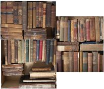 A collection of 18th-20th century legal titles, some leather bound, much used condition (c75)
