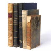 Platonis Opera Omnia, classical Greek text. Caroli Tauchnitii, Leipzig 1850. Full tree calf with