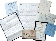 Beaconsfield (Earl of Benjamin Disraeli) (1804-1881) A four side manuscript letter dated March 2 (
