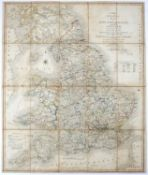 Cary (John) (1754-1835) Cartographer. 'Cary's Reduction of his large Map of England and Wales with