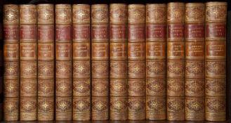 Macaulay (Thomas Babington Lord) The Complete Works in twelve volumes. Longmans Green 1907. Albany