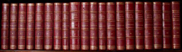 Bossuet (Jacques-Bénigne) French Theologian (1627-1704) Oeuvres Complètes de Bossuet. 20 Vols.
