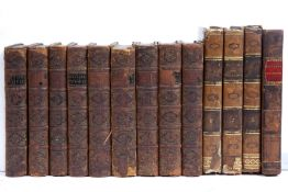 The British Theatre. 9/10 Volumes. W Feales and others, London 1736/7. Vol 9. Missing full tooled