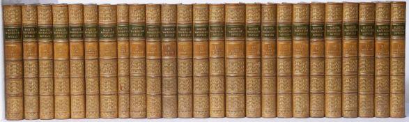 Scott (Sir Walter) 'The Waverley Novels'. 25 Vols. A & C Black, Edinburgh 1860 with frontispiece