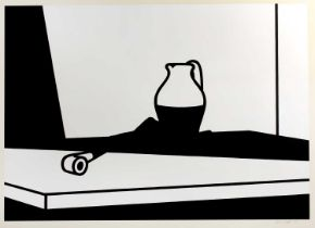 Patrick Caulfield (1936-2005) Pipe and Jug, 1974, signed and numbered in pencil (in the margin),