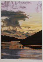 Brendan Neiland (b.1941) Loch Shiel, signed and numbered, screenprint, 80 x 60cm