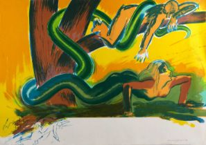 Allen Jones (b.1937) The Tree, 1988, signed, dated and numbered in pencil (in the margin),