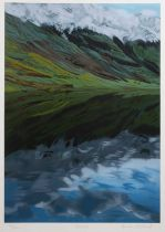 Brendan Neiland (b.1941) Glencoe, signed, titled, and numbered in pencil, screenprint, 80 x 59cm,