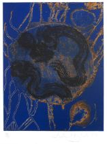 John Hoyland (1934-2011) Banda Oriental, 1989, signed, dated, and numbered in pencil (in the