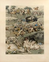 After A.C. Havell 'A Racing Nightmare' and 'A Fox Hunter's Dream', a pair, chromo-lithograph, pub.