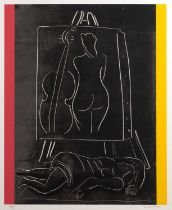Sonia Lawson (b.1934) Art & Music, signed and numbered in pencil, lithograph, 76 x 56cm, unframed;