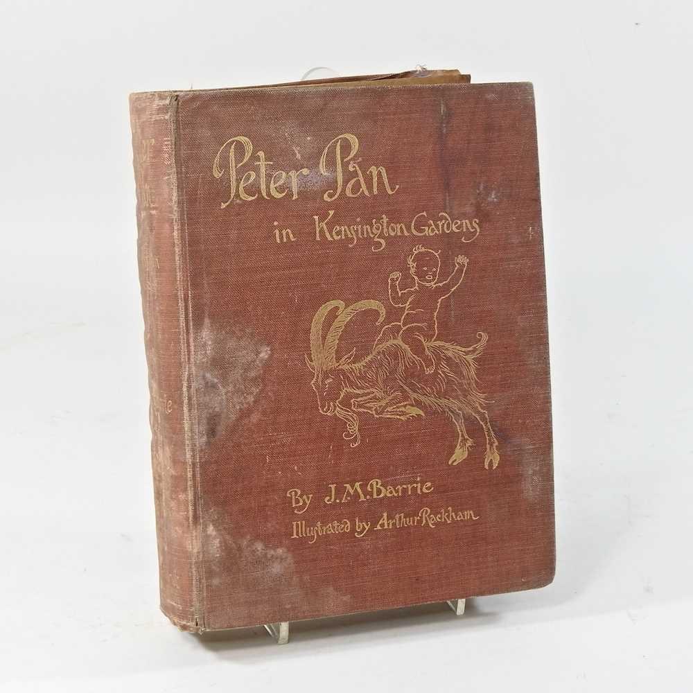 Peter Pan in Kensington Gardens, by J M Barrie