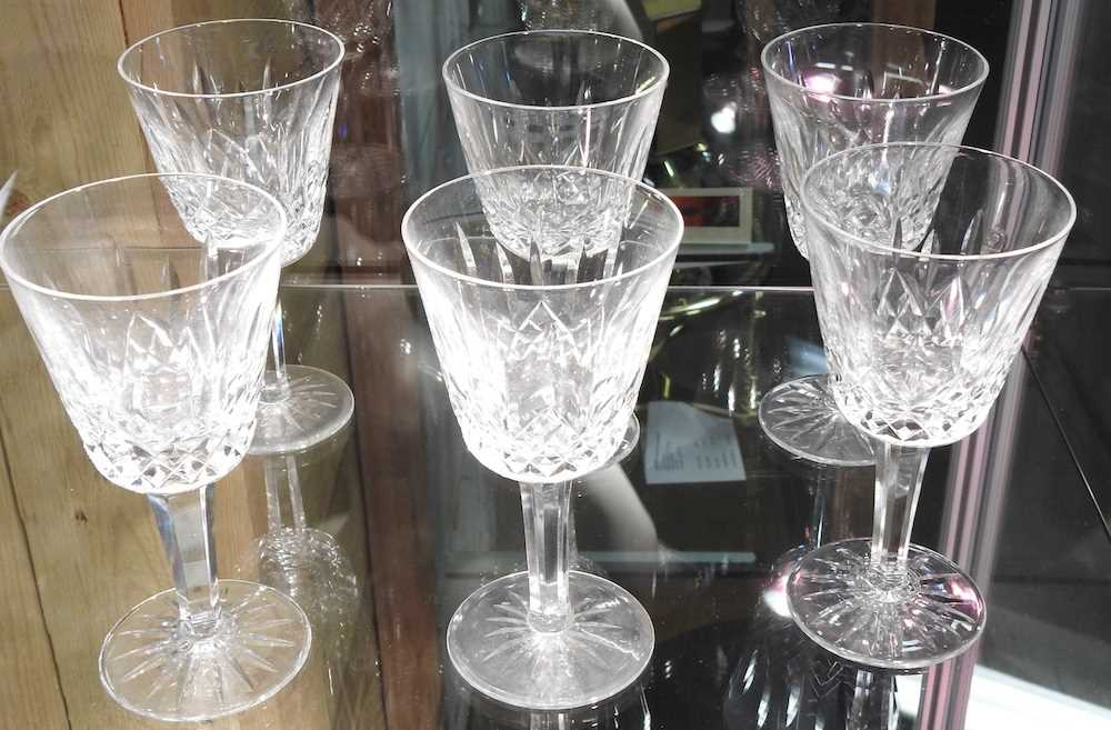 A collection of Waterford Lismore pattern crystal - Image 4 of 14
