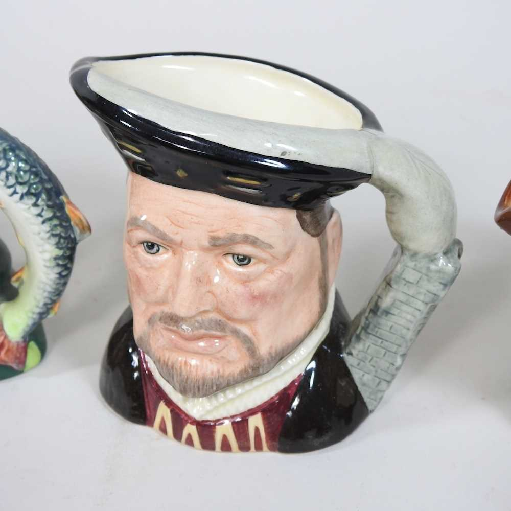 A collection of Royal Doulton Toby jugs - Image 5 of 14