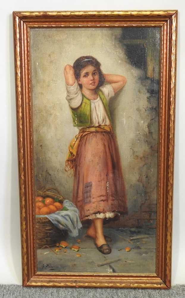 G Prior, The Orange Seller - Image 3 of 5