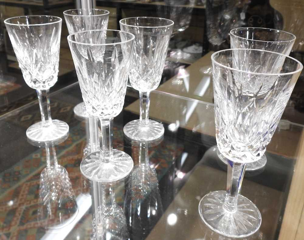 A collection of Waterford Lismore pattern crystal - Image 8 of 14