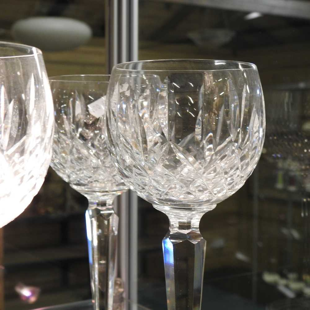 A collection of Waterford Lismore pattern crystal - Image 6 of 14