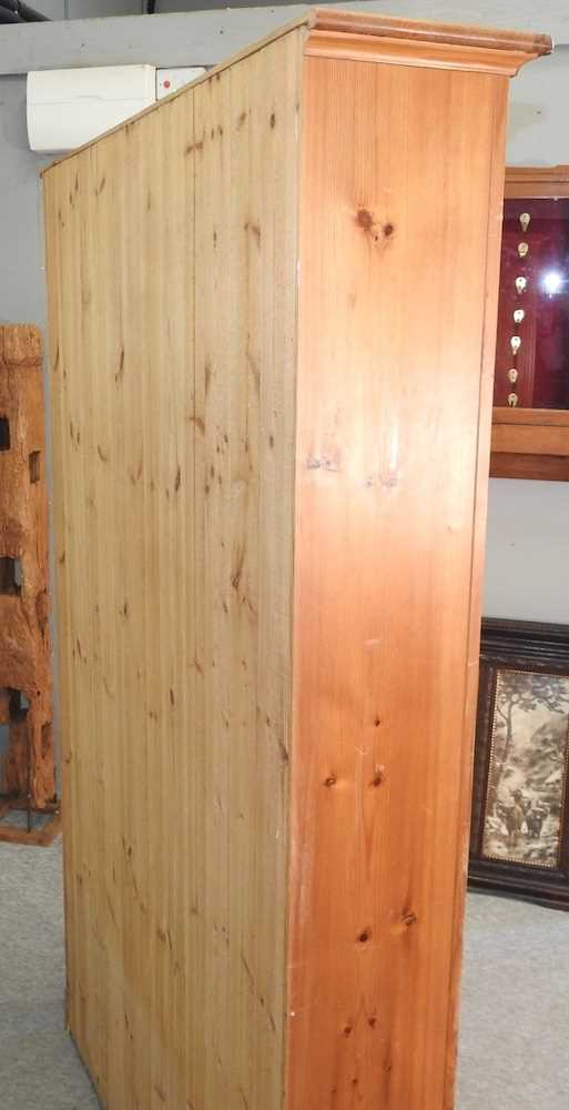 A mid 20th century pine cabinet - Image 9 of 9