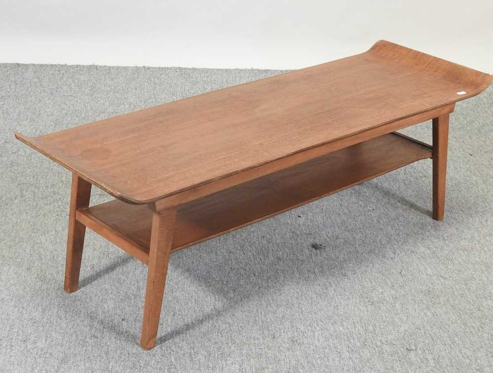 A 1970's teak coffee table - Image 3 of 5