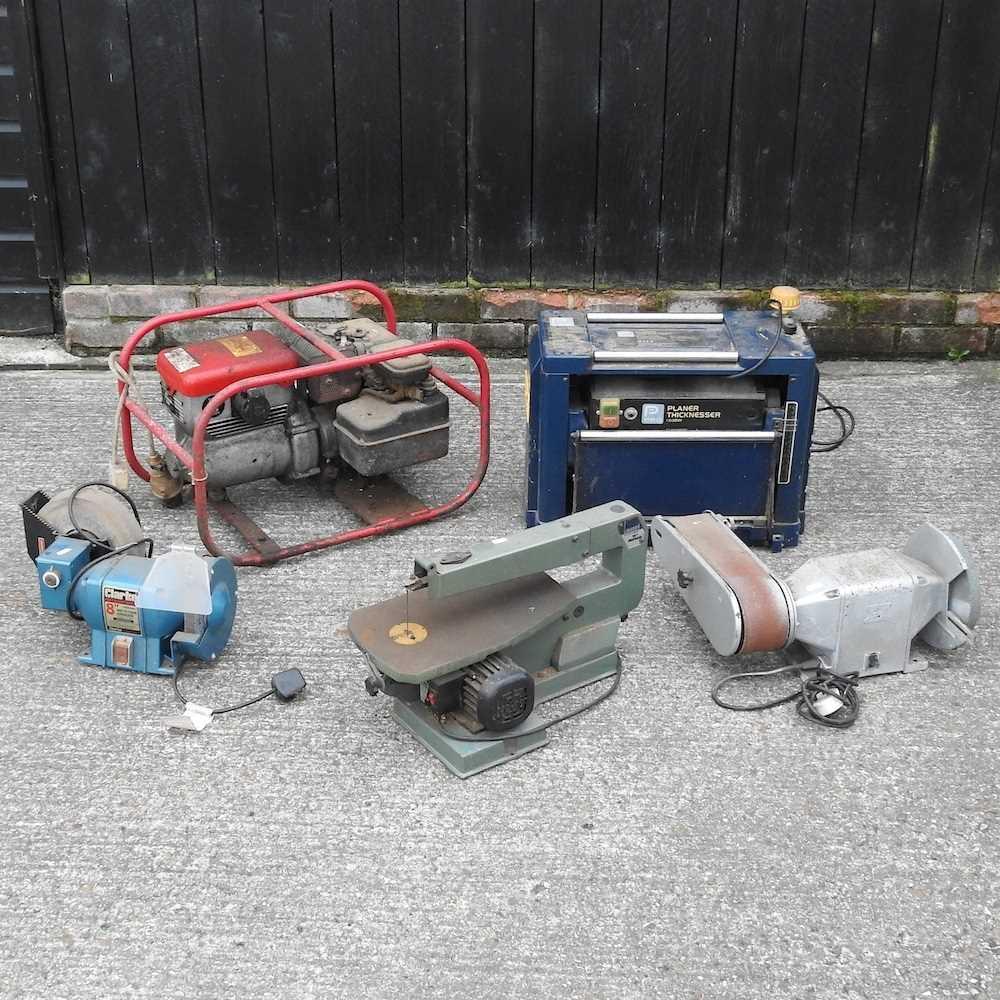 A petrol generator
