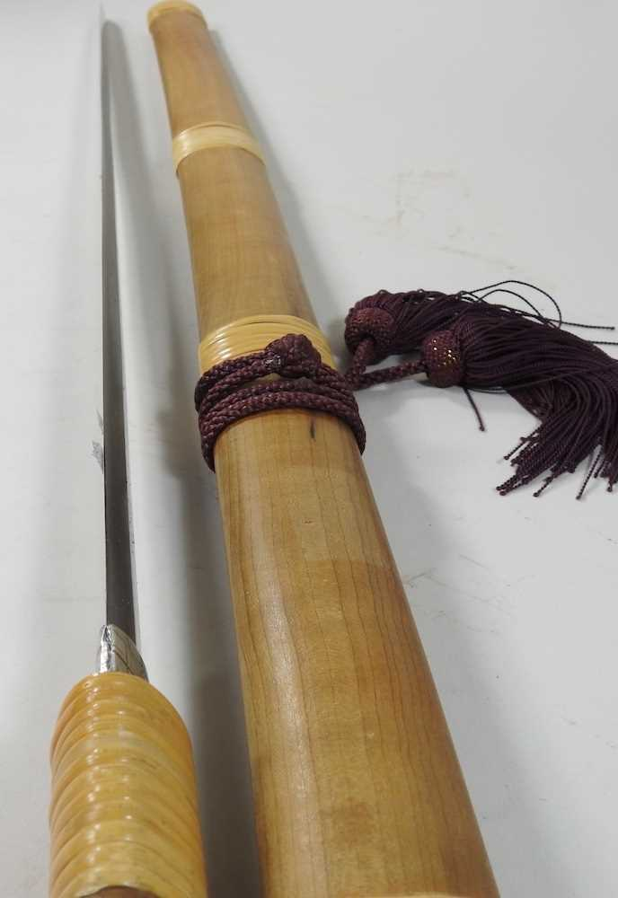 A mid 20th century Japanese short sword - Image 18 of 19