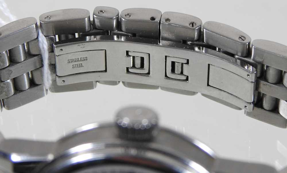 A modern Gevril steel cased chronograph wristwatch - Image 8 of 12