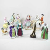 A collection of various figures