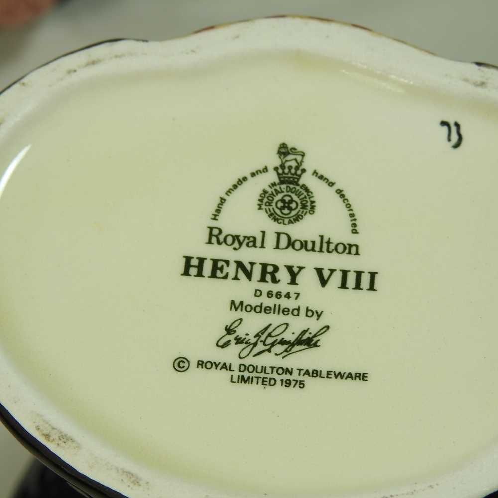 A collection of Royal Doulton Toby jugs - Image 2 of 14
