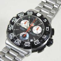 A modern Tag Heuer steel cased gentleman's diver's wristwatch