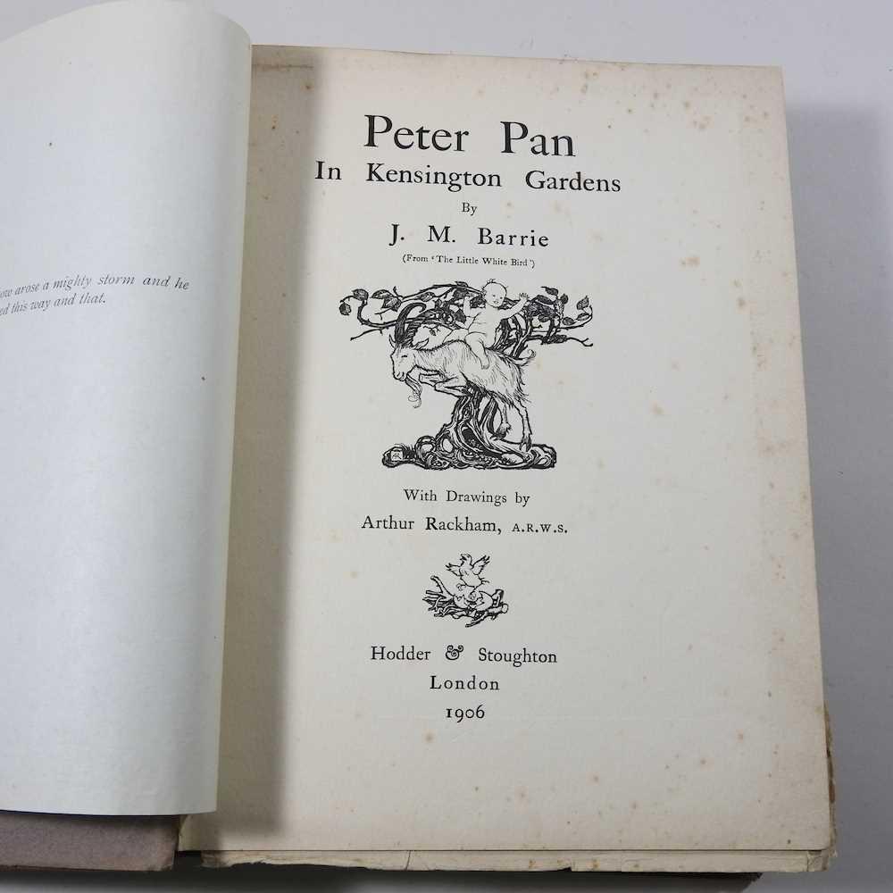 Peter Pan in Kensington Gardens, by J M Barrie - Image 9 of 16