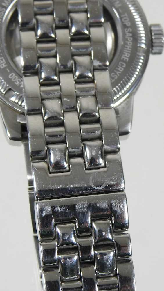 A modern Gevril steel cased chronograph wristwatch - Image 2 of 12