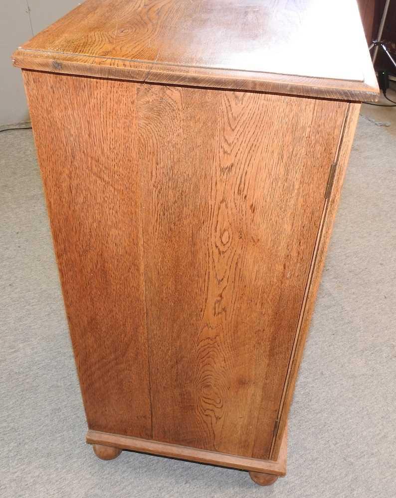 A 1920's light oak cabinet - Image 6 of 6