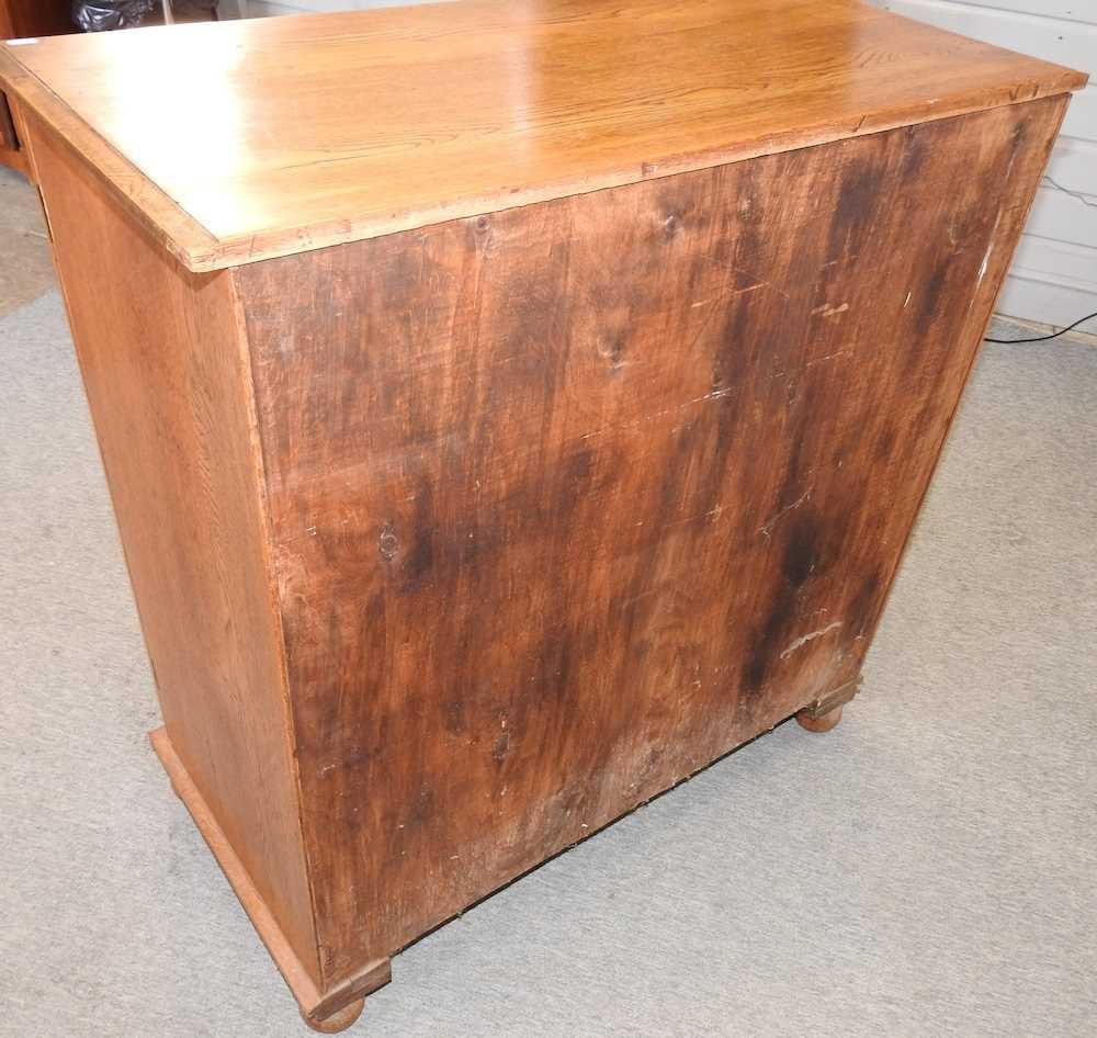 A 1920's light oak cabinet - Image 5 of 6