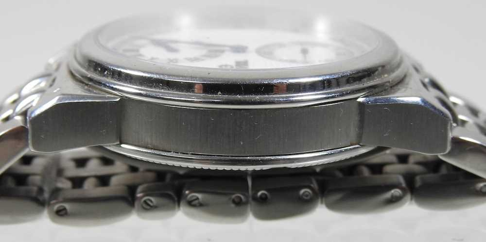 A modern Gevril steel cased chronograph wristwatch - Image 5 of 12