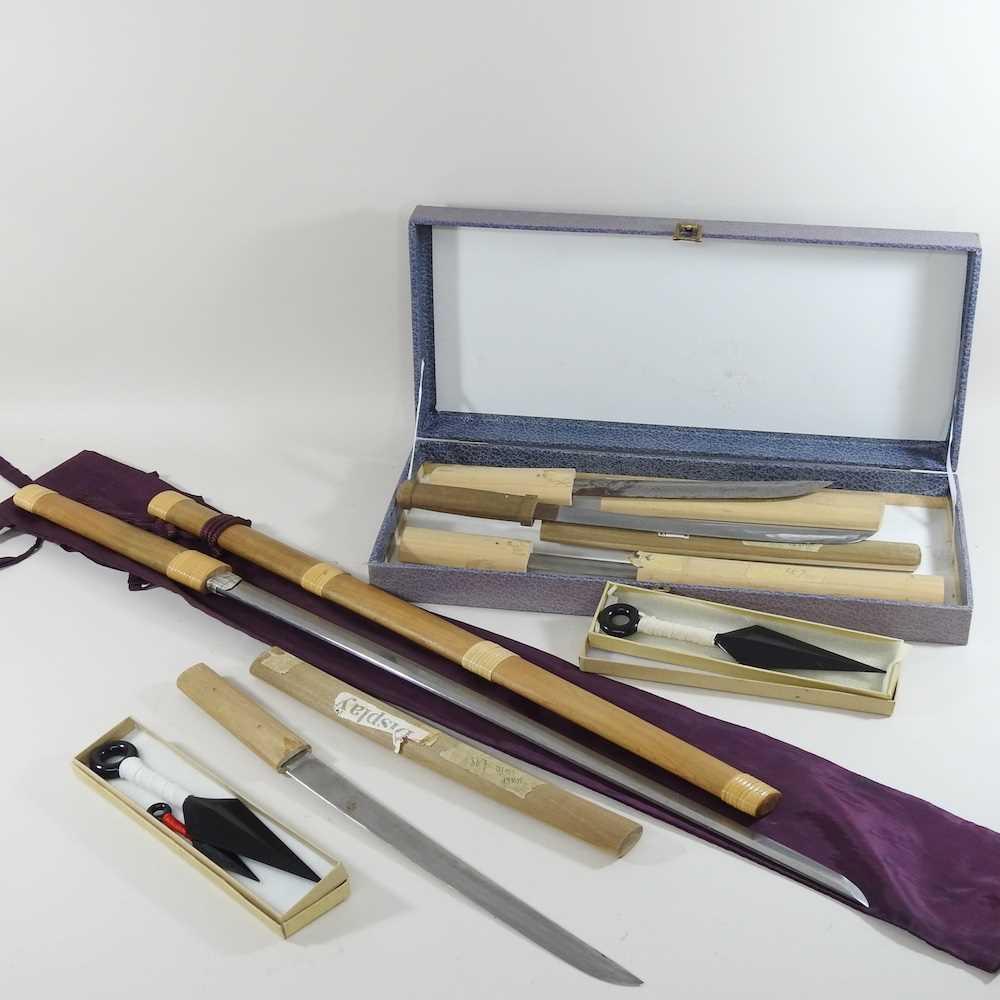 A mid 20th century Japanese short sword