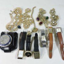 A Longines ladies wristwatch
