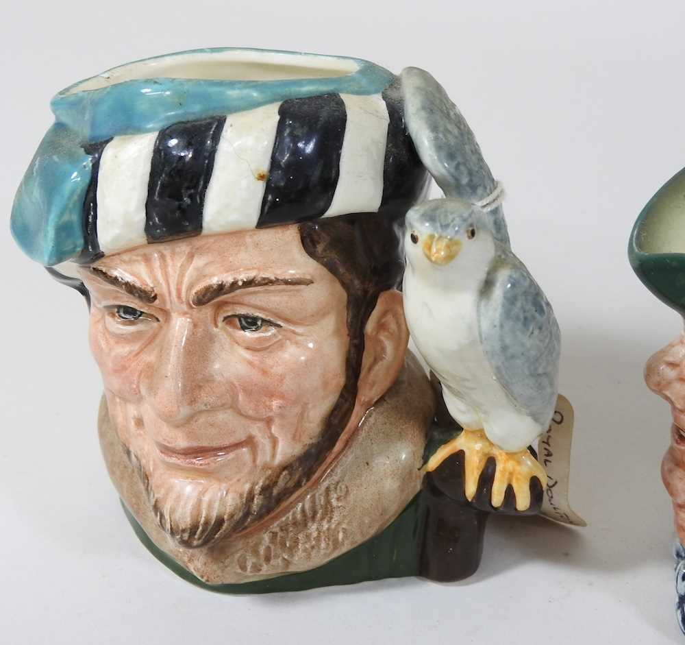 A collection of Royal Doulton Toby jugs - Image 6 of 14