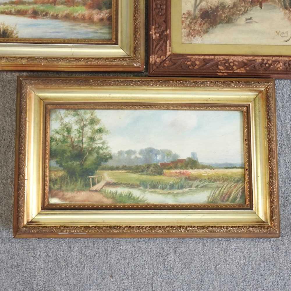 Hawthorn, 20th century, landscape - Image 3 of 8