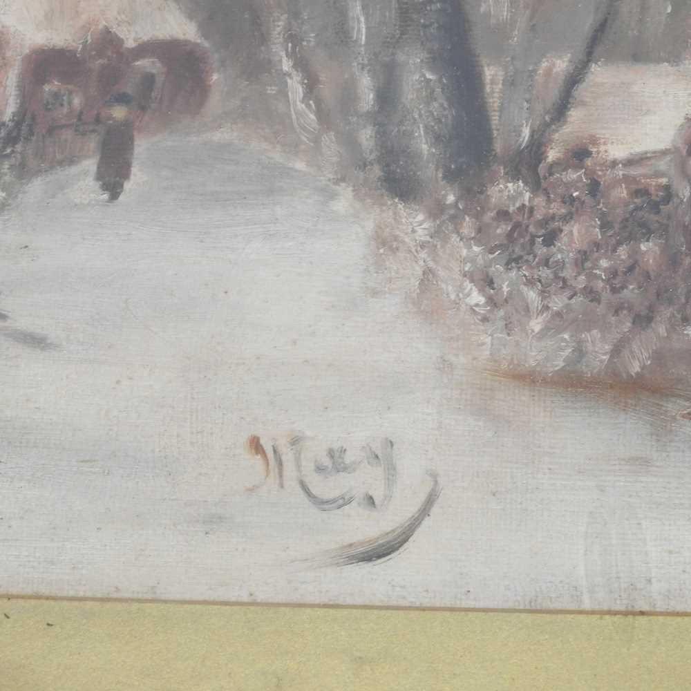 Hawthorn, 20th century, landscape - Image 6 of 8
