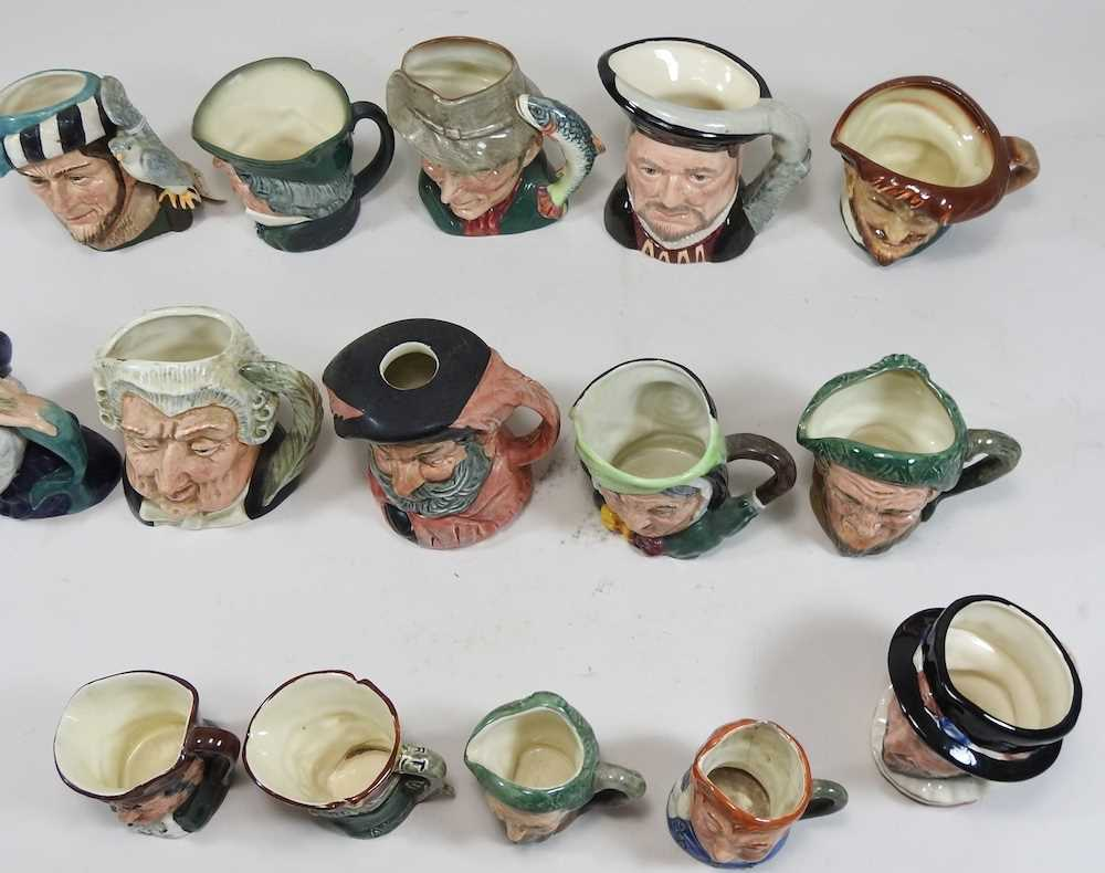 A collection of Royal Doulton Toby jugs - Image 7 of 14