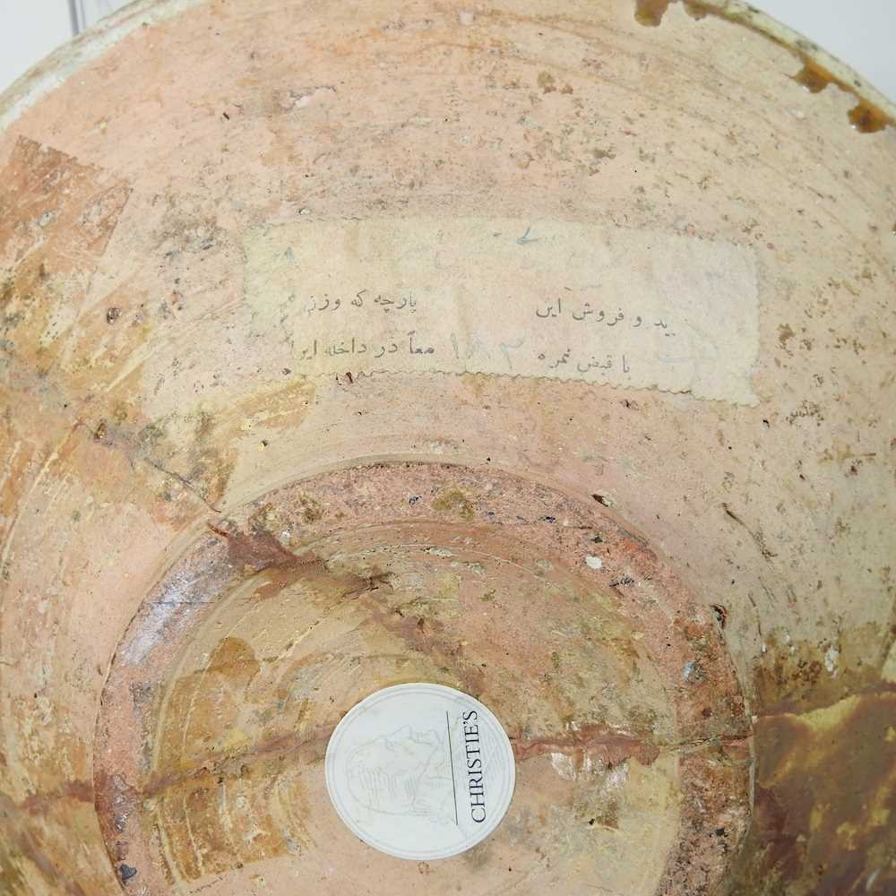 A Persian glazed pottery bowl - Image 2 of 6