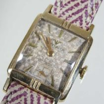 A Wittnauer 10 carat gold filled vintage wristwatch