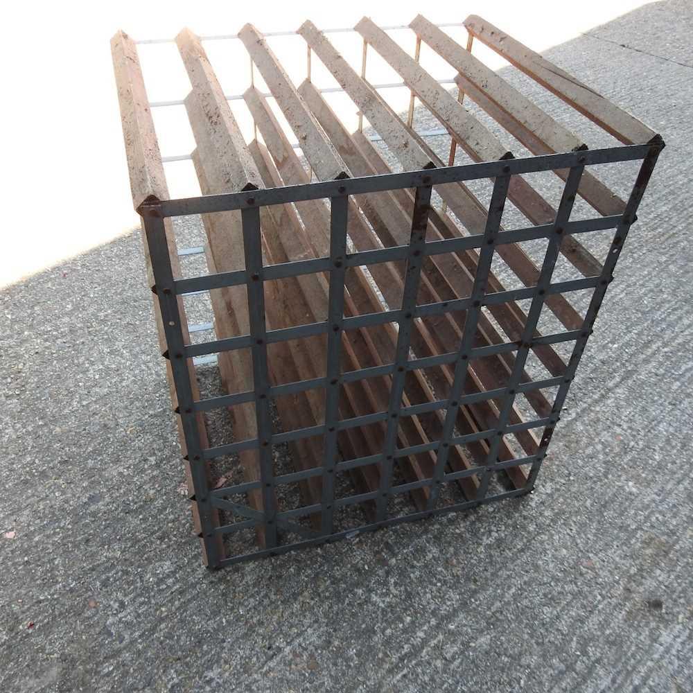 A wine rack - Image 6 of 6