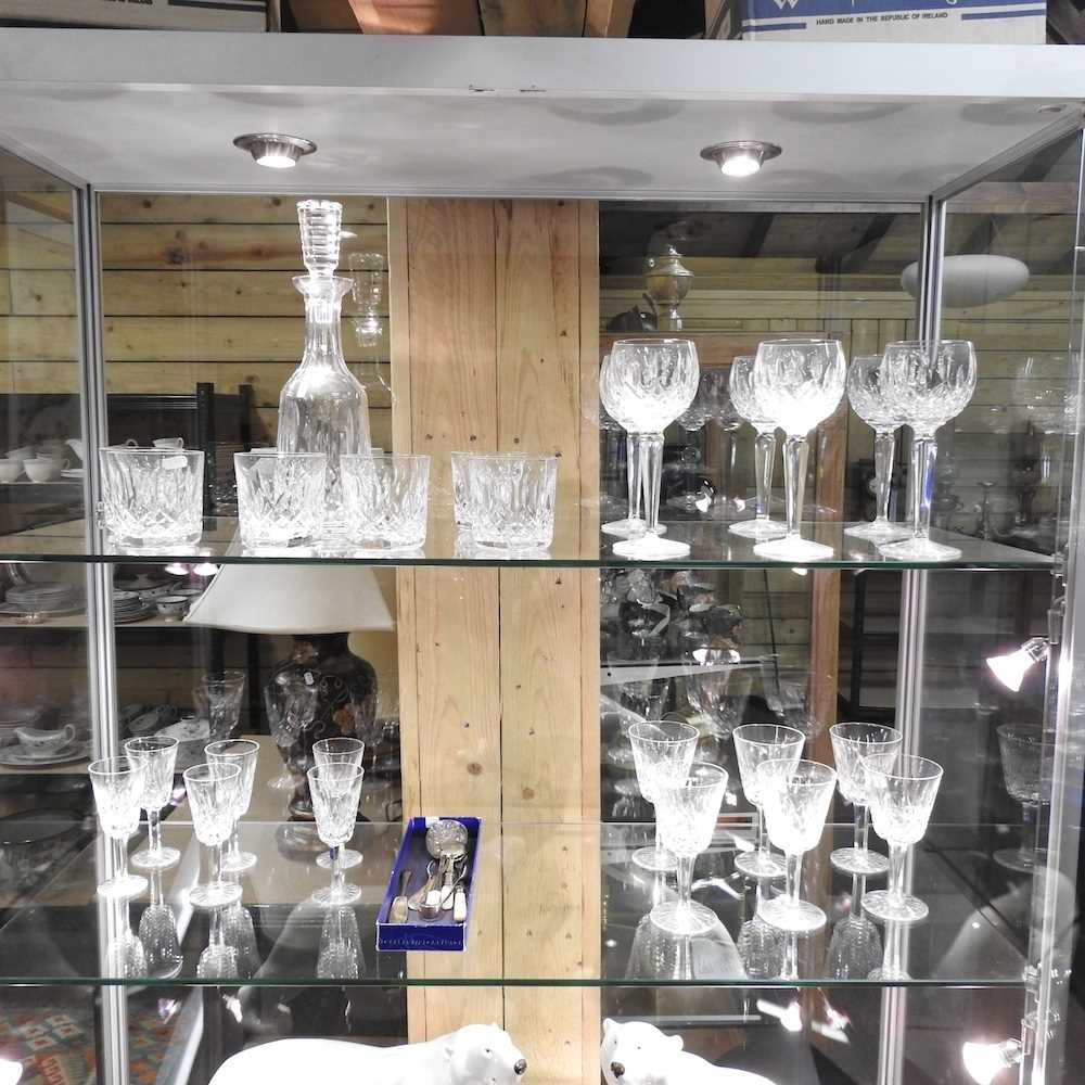 A collection of Waterford Lismore pattern crystal - Image 12 of 14
