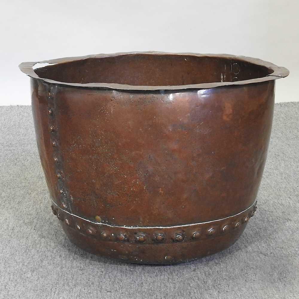 An antique copper copper